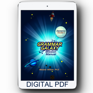 Grammar Galaxy Protostar Digital Mission Manual (Volume 2)