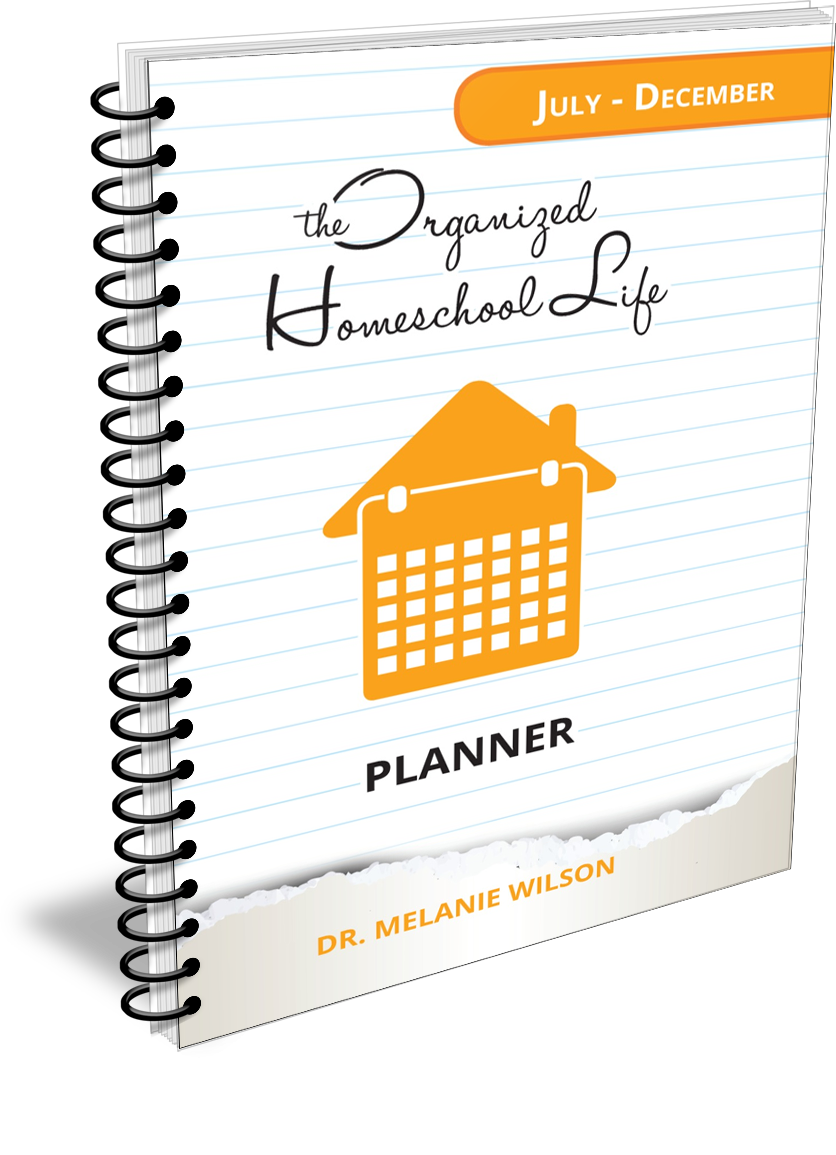 The Organized Homeschool Life Planner July through December
